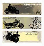 Adventure rider banners