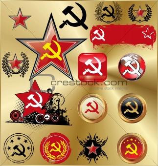 Communist signs