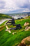 Cannons on Signal Hill near St. John&#39;s