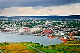 Cityscape of Saint John's from Signal Hill