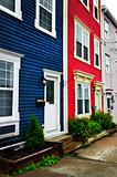 Colorful houses in St. John&#39;s