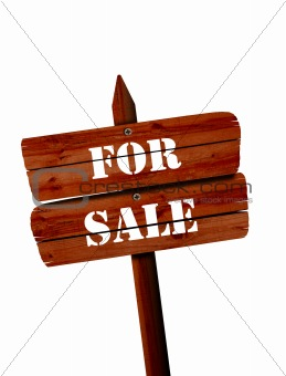 for sale signpost