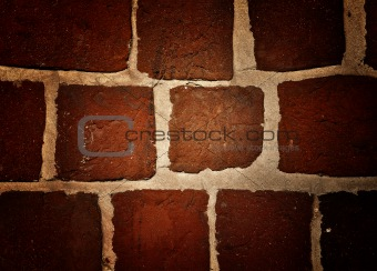 Old grunge brickwork