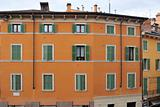 Colorful buildings in Verona