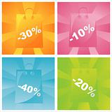 colorful sale bags backgrounds