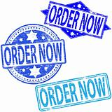 Order Now rubber stamps.