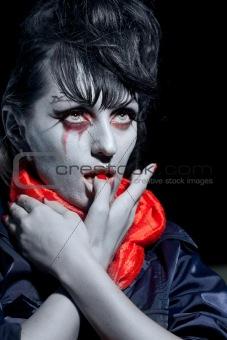 Halloween vampire