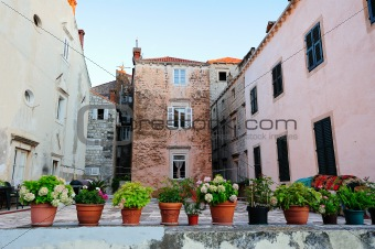 Old houses of Dubrovnik