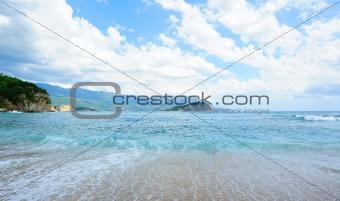 Aquamarine landscape