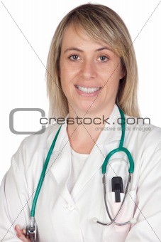 Attractive doctor