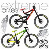 Mountain bikes set