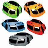 cartoon cars set 02