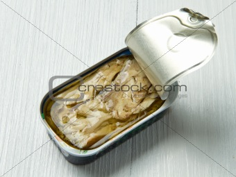 tin of mackerel