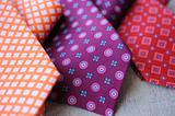 Three colorful Ties