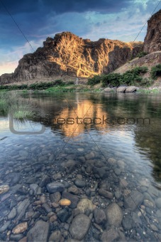 Sunrise Over John Day River