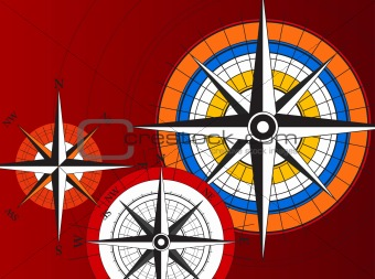 Compass and World Icons