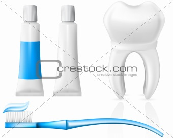Tooth and dental hygiene equipment