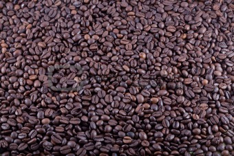 Background from fresh coffee