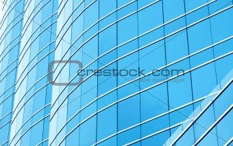 Business building windows