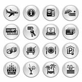 Recreation, Travel & Vacation, icons set