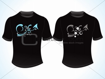 abstract creative t-shirt design