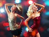 Dancing clubbers