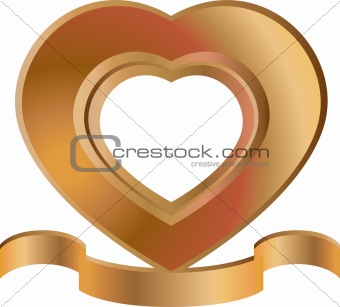 Heart-Shaped Frame
