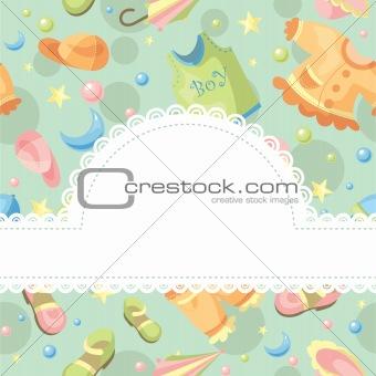 baby background illustration