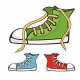 vector sneakers