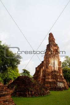 Pagoda at Wat Chaiwattanaram Temple, Ayutthaya, Thailand