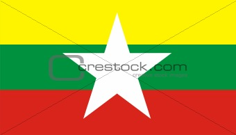 myanmar flag