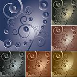 abstract curly backgrounds