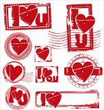 Stamp of Love - Various Stamps