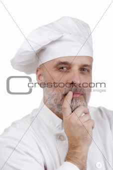 Portrait of a Thinking Chef