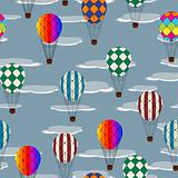 Hot air balloon pattern