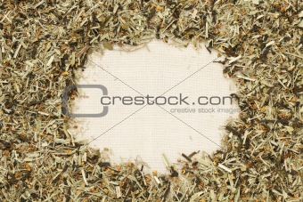 green tea with orange blossom