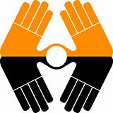 hand logo