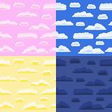 Seamless sky backgrounds