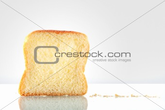 Sliced bread isolated