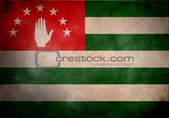 Abkhaz Grunge Flag