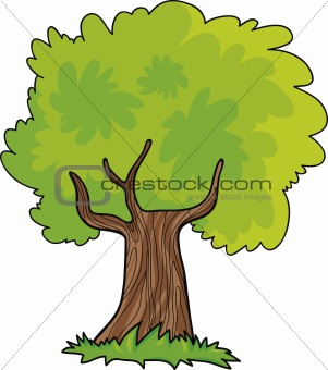 cartoon tree