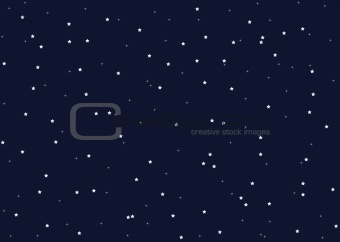 Beautiful night star sky background. EPS include