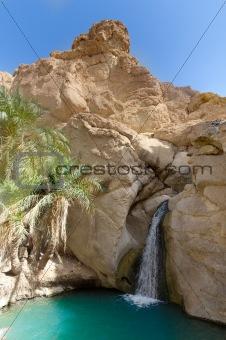 Waterfall in Oasis