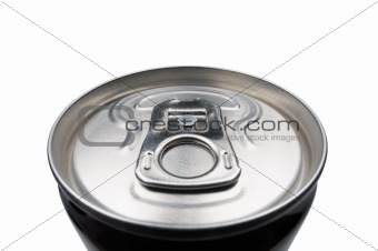 Closed aluminum can for soft drinks or beer