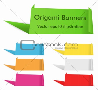 Origami Banners