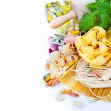 Composition of pasta