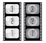 set of film vector illustration