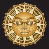 ancient gold medallion solar