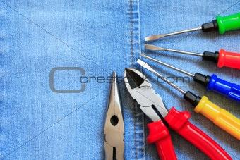 Tools On Denim
