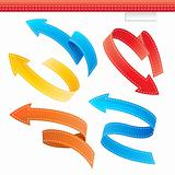 Colorful Arrows Set
